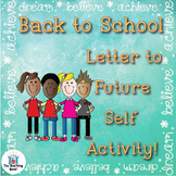 Back to School Letter Writing Activity