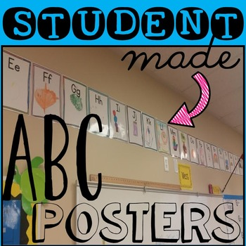 Back to School: ABC posters for your students to create