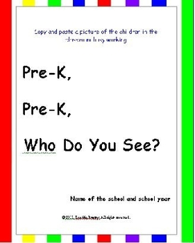 Back to School: Class book - Pre-Reading + Writing Skills - High Frequency words