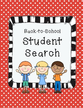 Back-to-School Student Search