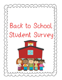Back to School Student Survey