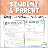 Back to School Student Survey (Distance Learning)