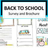 Back to School Student Survey and Brochure