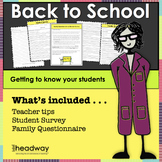 Back to School: Student Survey and Family Questionnaire