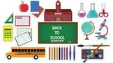 Back to School Student and Parent/Guardian Surveys