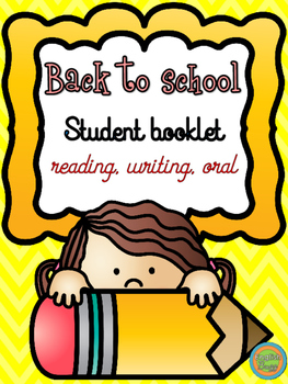 Back to School - Student booklet