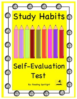 Self-Help Test: Study Habits (Grades 3 & Up)