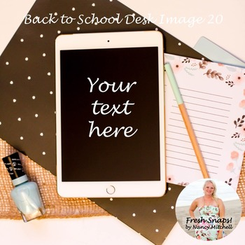 Back to School Styled Desk Image 20