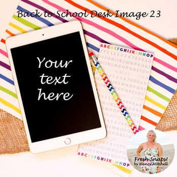 Back to School Styled Desk Image 23