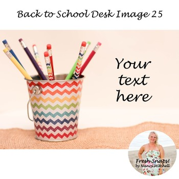 Back to School Styled Desk Image 25