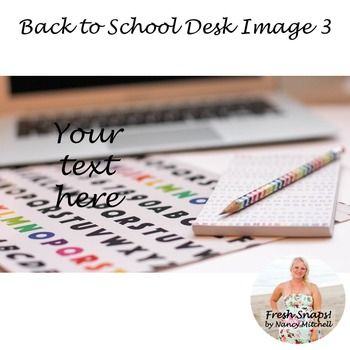 Back to School Styled Desk Image 3