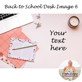 Back to School Styled Desk Image 6