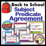 Boom Cards Subject Predicate Agreement