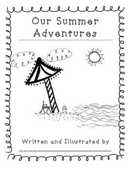 Back to School Summer Class Book