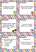 Back to School - Summer Holiday - 72 Task Cards for Writers Journal