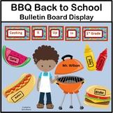 Back to School Summer School Bulletin Board - BBQ Theme