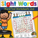 Back to School Summer Word Search | Sight Words | High Fre