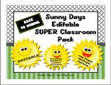 Back to School Sunny Days SUPER Editable Pack