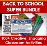 Back to School Super Bundle of Activities