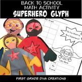Superhero Themed Back to School Glyph~Data Analysis