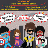 All About Me Super Hero Banners and PowerPoint Show