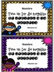 Back to School - {Super Hero} SPANISH Editable Certificates