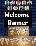 Back to School {Super Hero} Welcome Banner