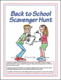 BTS Super Kid Scavenger Hunt FREEBIE