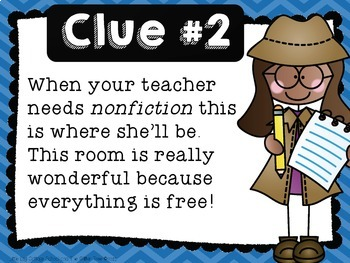 Back to School Super Sleuths!