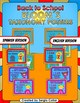 Back to School - Superhero Bloom´s Taxonomy Posters - Bilingual