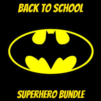 Back to School Superhero Bundle