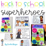 Back to School Superheroes - An All About Me Activity for K-2