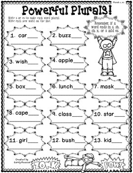 Print and Go August and September Literacy Fun
