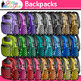 Back to School Supplies Clip Art Bundle 2 | School Clipart for Teachers