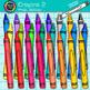 Back to School Supplies Clip Art Bundle {Crayons, Pencils, & Notebooks} 3