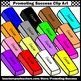 Back to School Supplies Clip Art, Mini Eraser Clipart For Commercial Use SPS