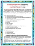 SCHOOL SUPPLY LIST - Elementary Back to School (Editable)