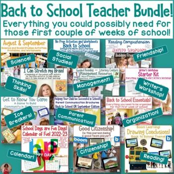 Back to School Supreme Teacher Bundle