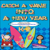 Back to School (Surfing Theme) Catch a Wave Into A New Year Learning Adventure