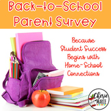 Back to School Free Survey for Parents