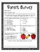 Back to School Surveys