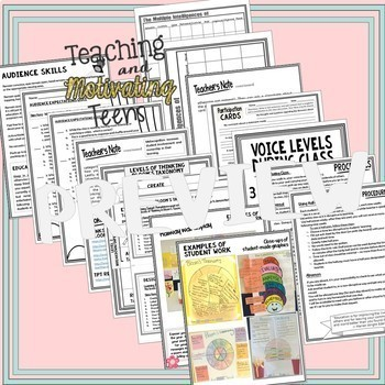 Back-to-School Bundle of Activities, Handouts, Pretests & More for Middle & High