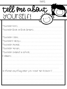 Back to School Surveys - Student and Parents