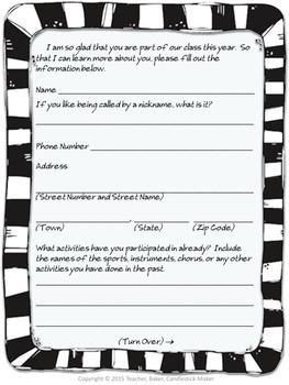 Back to School Surveys for Students & Parents
