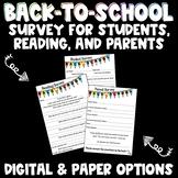 Back-to-School Surveys