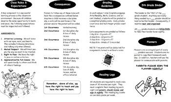 Back to School Survival Guide Brochure