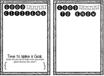 Back to School Survival Guide (Editable)