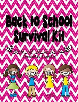 Back to School Survival Kit