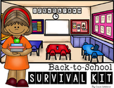 Back to School Survival Kit: 25+ Activities for the First Week of School!
