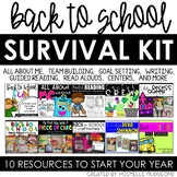 Back to School Activities | Back to School Survival Kit
